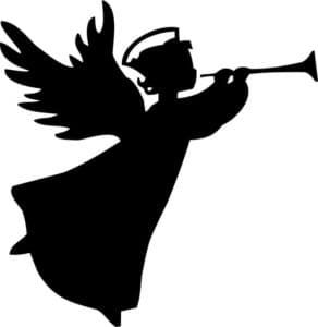ангелочек трафарет для вырезания