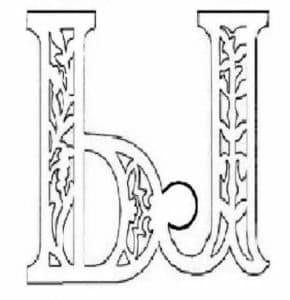 Шаблон буквы Ы