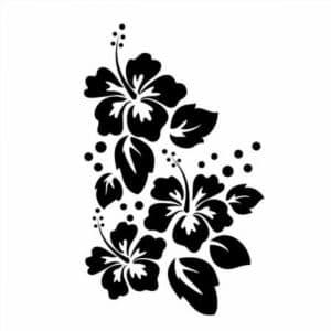 цветы шаблон для вырезания