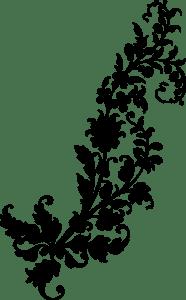 узоры с цветами трафарет