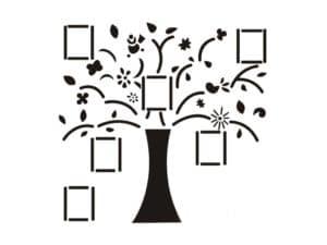 дерево с квадратиками