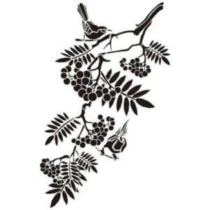 листья на ветке