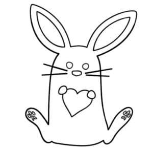заяц трафарет для 3д ручки