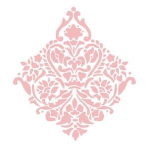 розовые узоры для стен