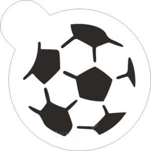 трафарет мяч
