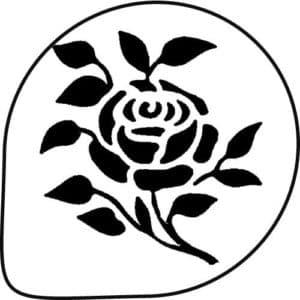 роза для вырезания