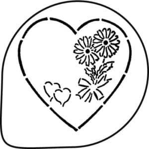 сердечко для вырезания