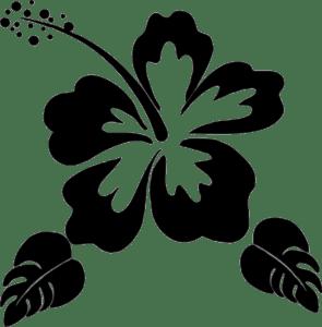 цветок трафарет для вырезания