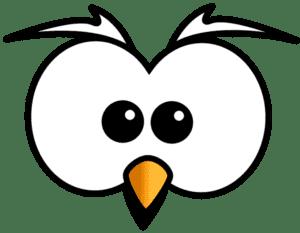 глаза совы трафарет