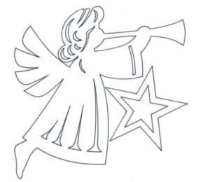 ангел с звездой