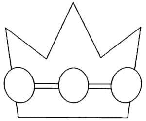 корона с кружками