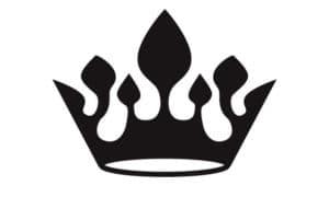 корона шаблон