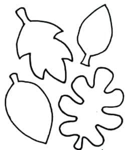 четыре листочка