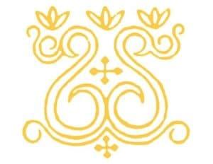 желтые узоры орнамент