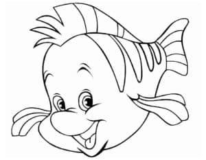 рыбка немо трафарет