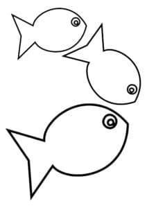 красивые рыбки для вырезания