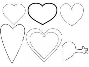 формы сердечек