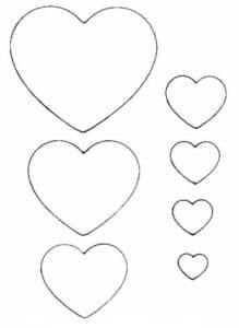 красивые сердечки