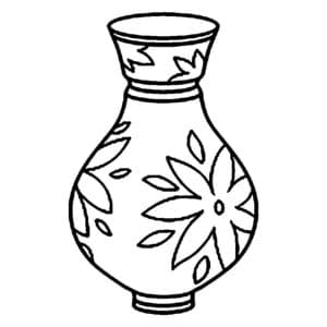 ваза с узорами