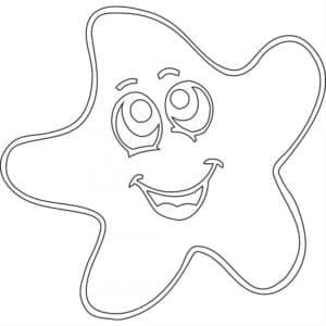 звезда с лицом