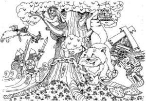 у лукоморья дуб зеленый