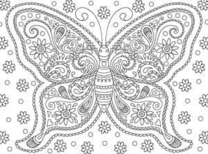 бабочка антистресс для взрослых
