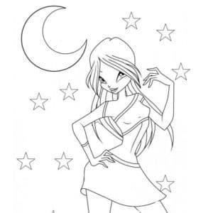 шармикс и луна