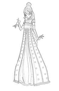 винкс в платье