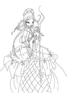 винкс в бальном платье