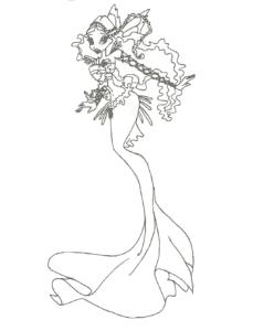 красивая русалка винкс