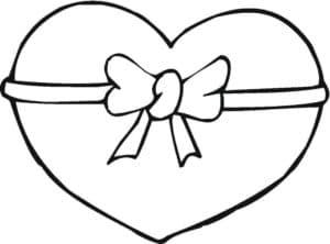 подарок сердце