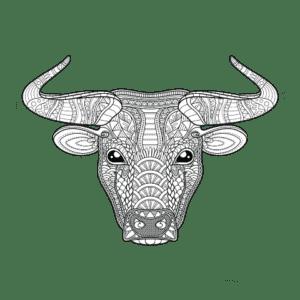 голова быка антистресс