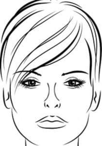 раскраска лица девушки