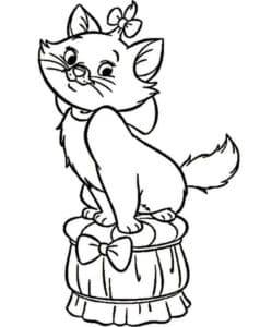 Котенок с бантом