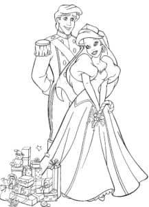 Ариэль и принц