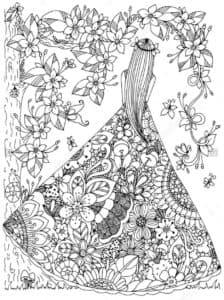 принцесса в платье антистресс