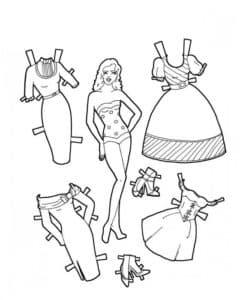 Девушка и её одежда