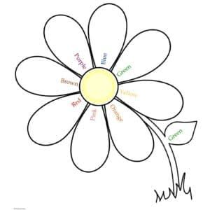 Цветик семицветик раскраска для ребенка