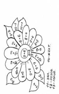 Цветок с примерами