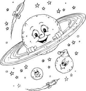 планеты и ракеты