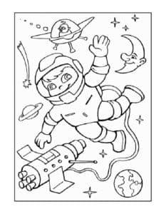 картинка на день космонавтики