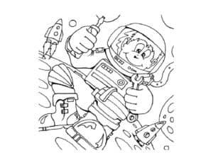 обезьяна в космосе