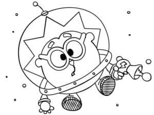 ежик в космосе
