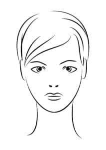 лицо девушки
