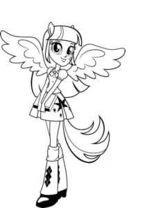 Девушка из Эквестрии ангел