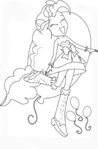 Девочка из Эквестрии и воздушные шарики