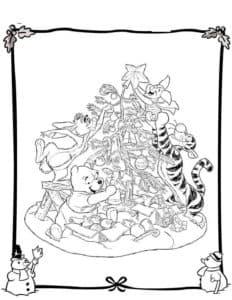 Тигр с пятачком и винни
