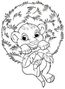 львенок на венке