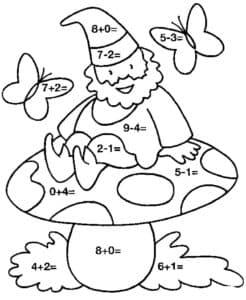 математический гном и гриб