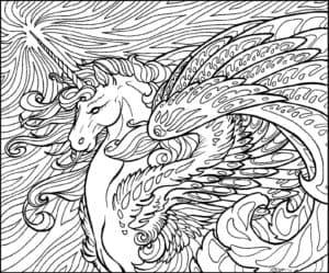 Единорог с крыльями антистресс